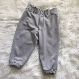 Mizuno Other - Mizuno gray short length baseball pants