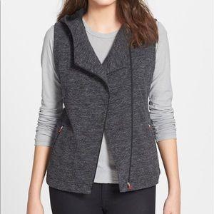 Eileen Fisher Tops - Hooded Asymmetrical Knit Vest