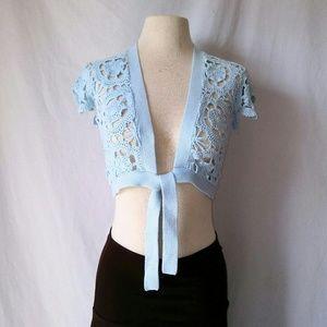 OLD Navy Crochet Shrug