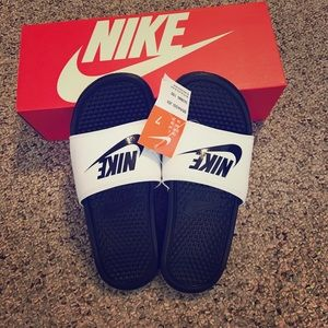 Nike Shoes - Brand New Nike Slides -with Box