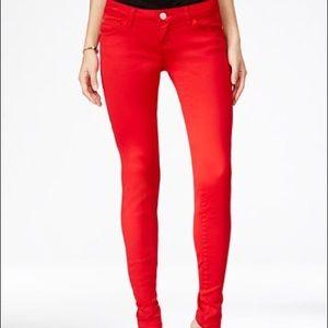 Celebrity Pink Denim - Red Skinny Jeans