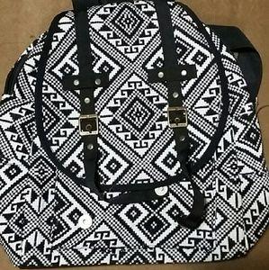 Other - Printed black backpack