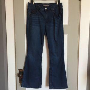 Melissa McCarthy Denim - Melissa McCarthy Seven7 Aztec Flare Jeans Size 14