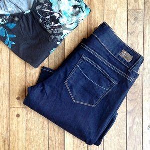 Paige Jeans Denim - Paige Hidden Hills hi rise dark wash bootcut jeans