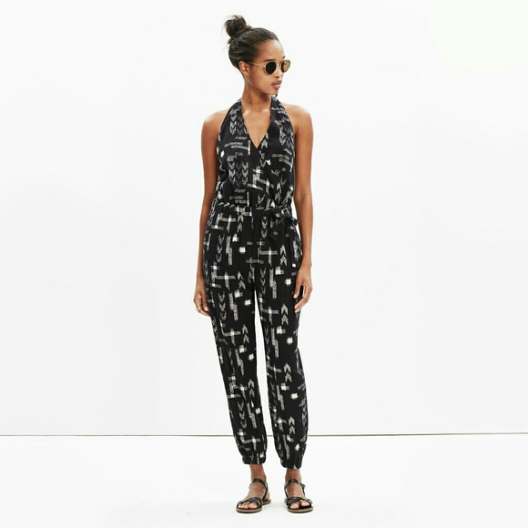 24c90a81c6 Madewell Pants | Maderas Jumpsuit Cover Up Ikat Beach | Poshmark