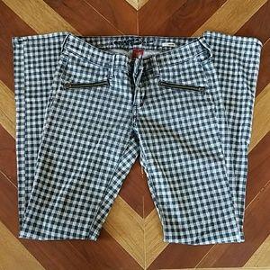 Arizona Jean Company Denim - Checkered Skinny Jeans