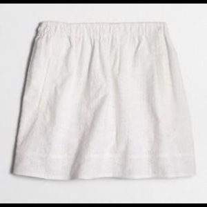 J. Crew Dresses & Skirts - Jcrew eyelet white skirt xxl