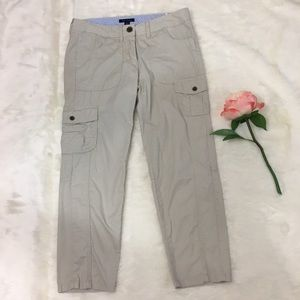 Tommy Hilfiger Cropped Cargo Pants