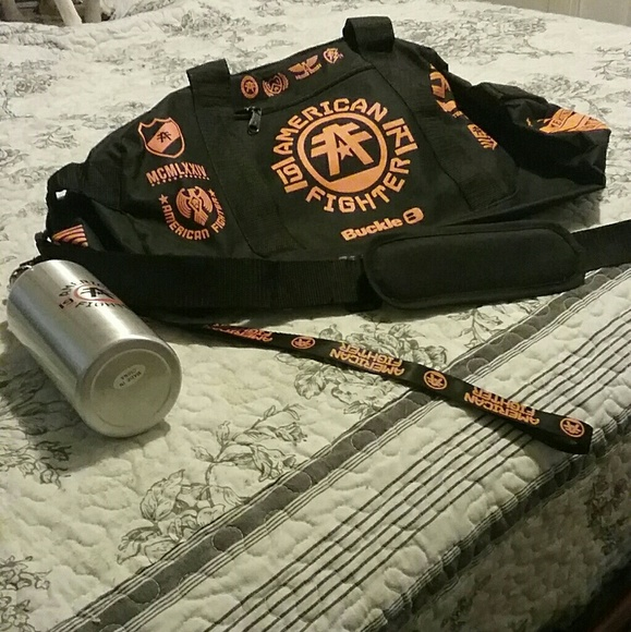 more photos 24d6b 20abb American Fighter gym bag and accessories