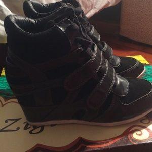 Zigi Soho Shoes - Zigi Soho Wedge Sneakers