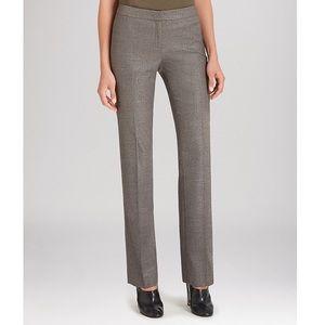 Lafayette 148 New York Pants - Lafayette 148 Gray Tweed Career Dress Pants