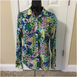 Jcrew factory print button up