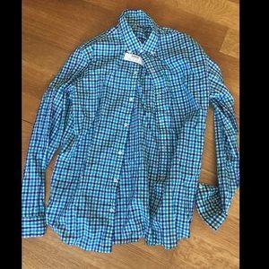 J. Crew Other - Jcrew lightweight men's dress shirt gingham size M