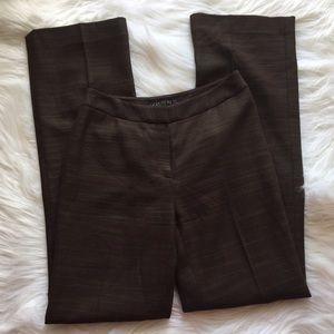 Lafayette 148 New York Pants - Lafayette 148 Brown Career Dress Pants