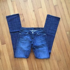 NWOT People's Liberation straight leg jeans Sz 25