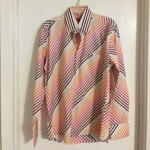 Report Collection Other - NWOT Report Collection Multi Stripe Men's Shirt L