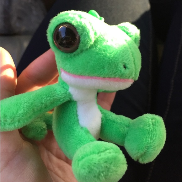 geico accessories baby gecko key fob bag charm green poshmark