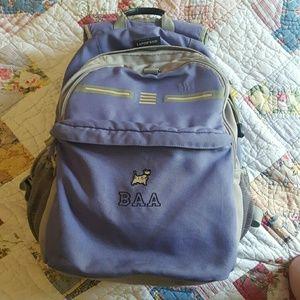 """Land""""s End backpack"""