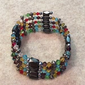 Jewelry - Magnetic crystal bracelet 🌸