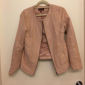 Pink Honey & hive moto inspired jacket- medium