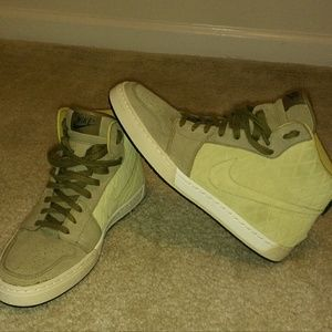 Nike Other - Dope Nikes! All suede quilted!