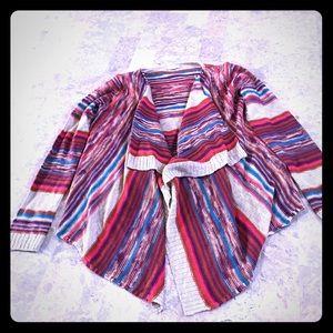 濾 Striped Cardigan 濾