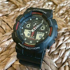 Casio Other - Casio Men's G Shock GA 100 Watch