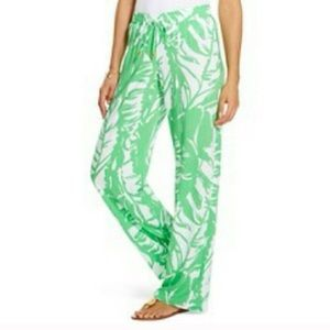 Lilly Pulitzer leaf pants