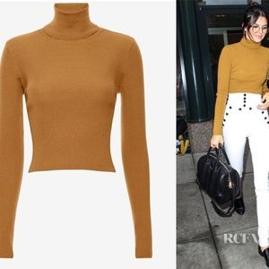 *NEW* ALC Cropped Turtleneck Sweater