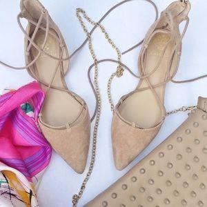 Vince Camuto Shoes - Vince Camuto lace up flats