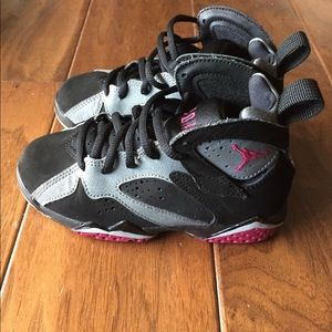 Other - Jordan children's black grey and maroon shoes.