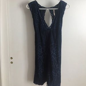 Free People Dress Navy