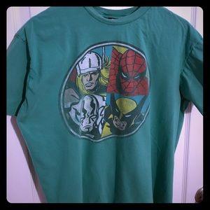 Marvel Other - Marvel Four Hero T-Shirt