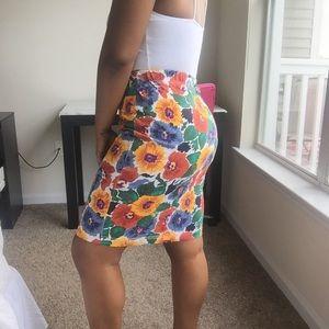 Van Heusen Dresses & Skirts - Van Heusen Multicolor Floral Skirt