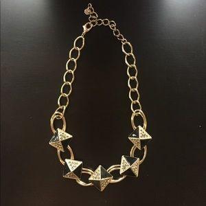 Simply Vera Vera Wang black & gold necklace