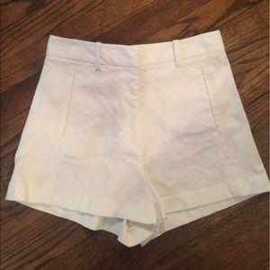 Victoria's Secret Pants - Victoria secrets high waisted white tulip shorts 8
