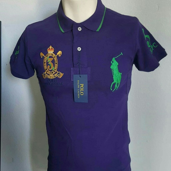 8f73ec2d8dbe Polo Ralph Lauren custom fit shirt summer classic