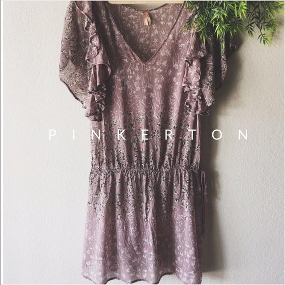 7145cb5bdf7f Anthropologie Dresses & Skirts - • Anthropologie Silk Pinkerton Tunic Dress
