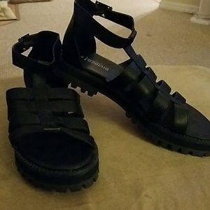 New H&M  Black Sandals