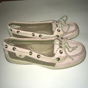 Shoes - Light Pink size 7M Sperry Top-Sider Shoes