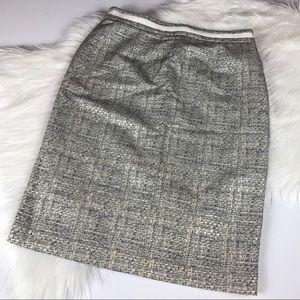 Boden Dresses & Skirts - Boden Metallic Tweed Pencil Skirt
