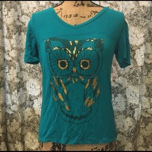 Fifth Sun Tops - Fifth sun cute owl top