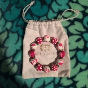 Angela Moore Jewelry - Angela Moore hand painted bracelet