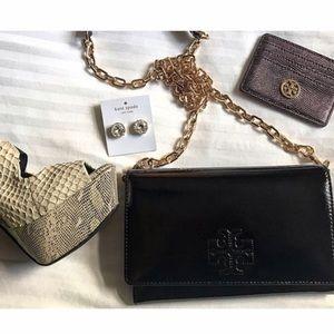 Tory Burch Handbags - New Tory Burch patent leather cross body