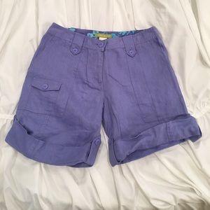 Sigrid Olsen Pants - SIGRID OLSEN  NWT! Periwinkle Petite Shorts! (2)