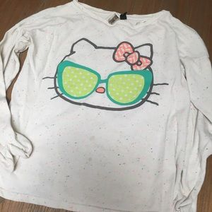 Hello kitty top retro limited edition size large