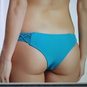 Mikoh Other - NEW $45 Mikoh Cayman bikini bottoms teal XS
