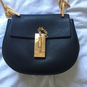 Chloe Handbags - Chloe Mini Drew Shoulder Bag in Black