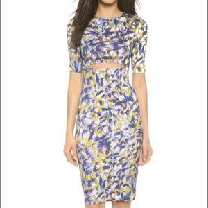 SUNO Dresses & Skirts - SUNO silk crepe cutout dress