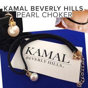 Jewelry - NEW Kamal Beverly Hills Pearl Drop Choker